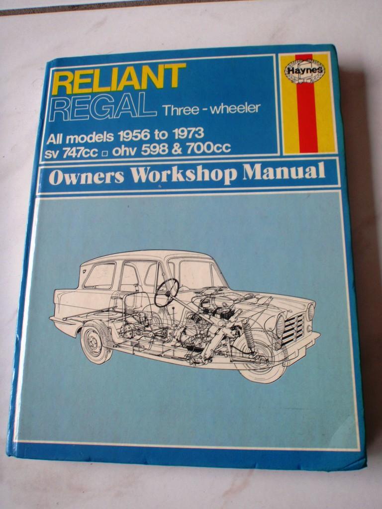 Reliant Regal Werkstatthandbuch