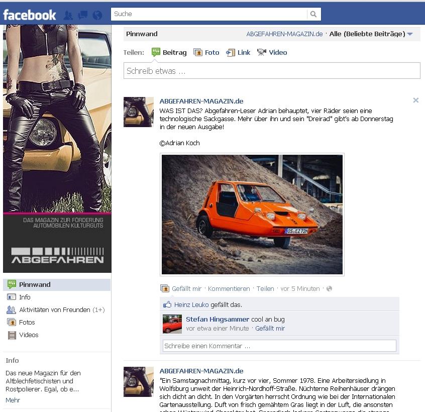 Abgefahren Magazin - Facebook