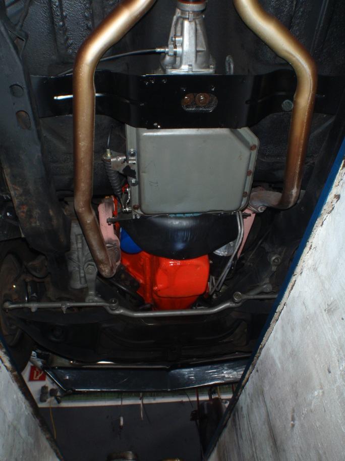 Getriebe & Motor Unterseite