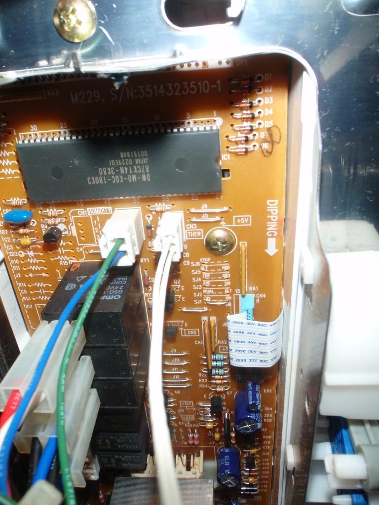 Temperatursensor Platine