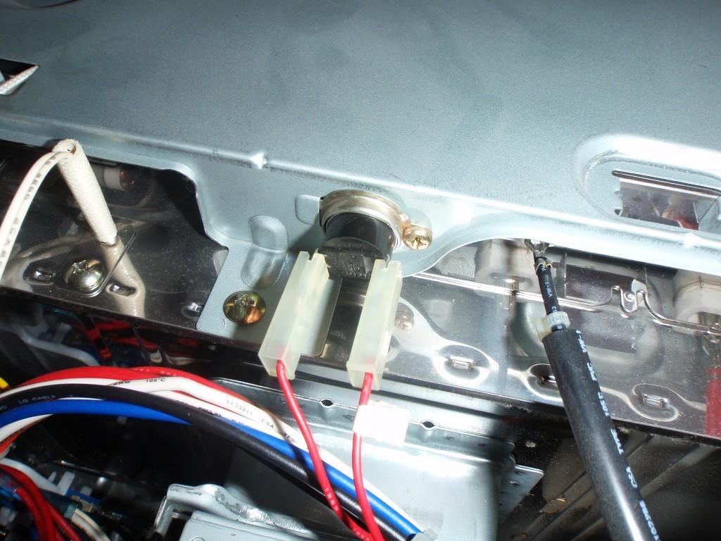 Temperatursensor neu eingebaut