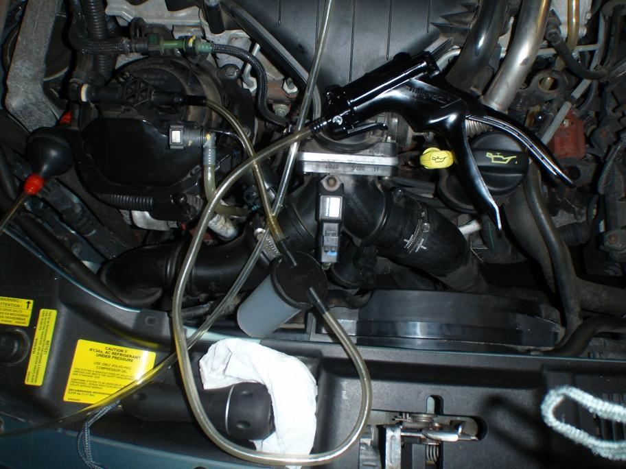 Unterdruckpumpe hinter Dieselfilter