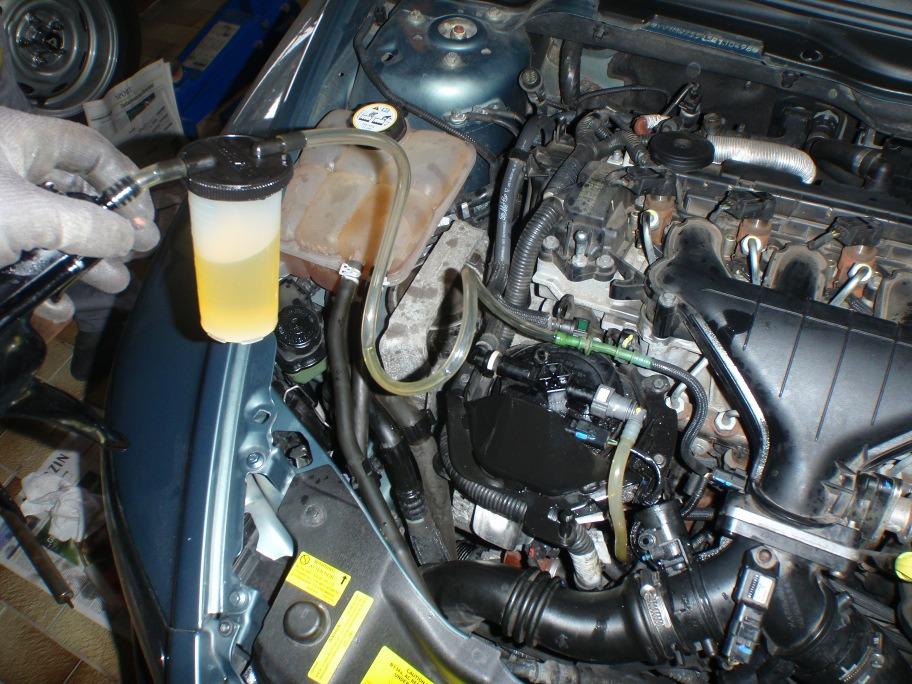 Diesel aus Rücklaufleitung