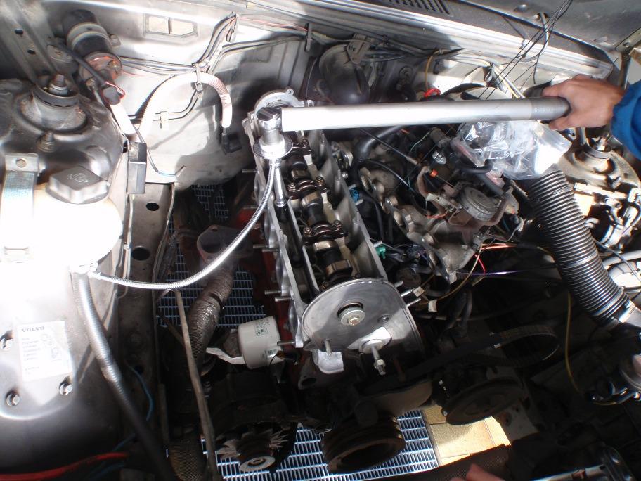 Volvo 740 GL Zylinderkopf
