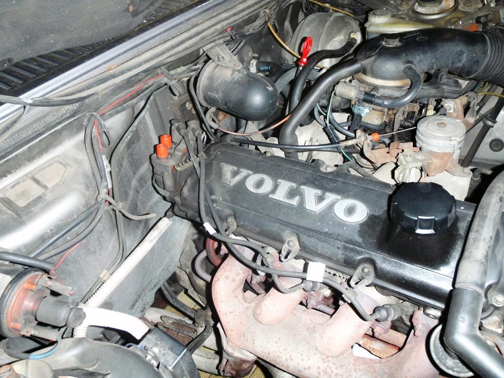 Volvo 740 Zündanlage