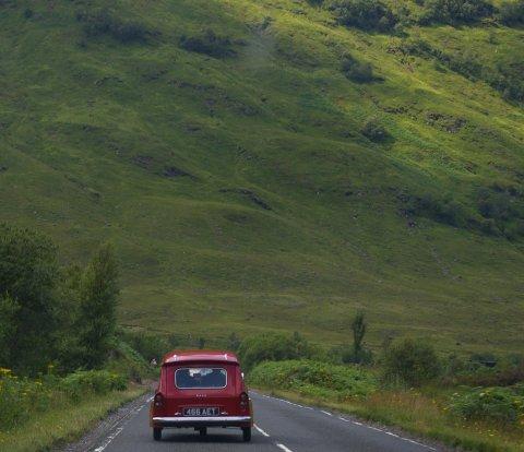 Bond in Scotland