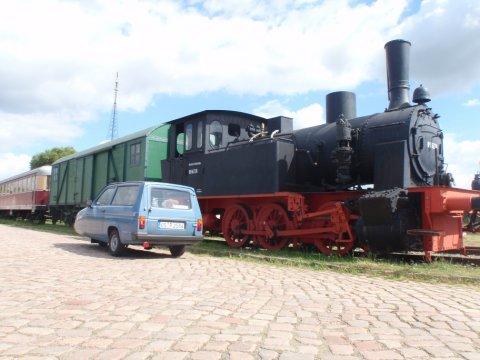 Dampflock Eisenbahnfreunde Magdeburg