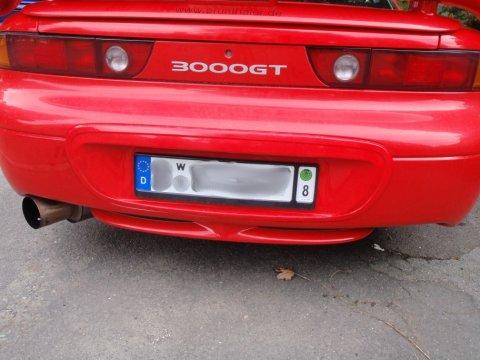 Mitsubishi 3000 GT Treffen 2012 Wechselkennzeichen