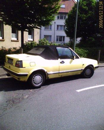 unbekanntes Golf Cabrio