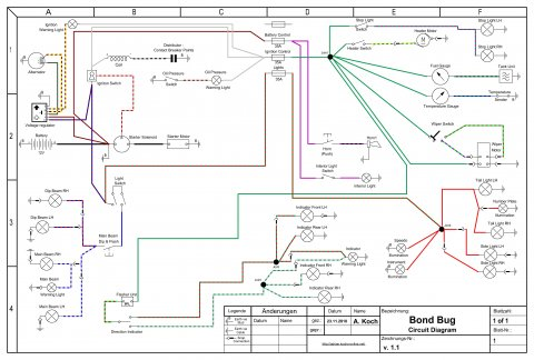 Bond Bug Circuit Diagram v.1.1