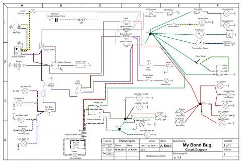 My Bond Bug circuit diagram v.1.1
