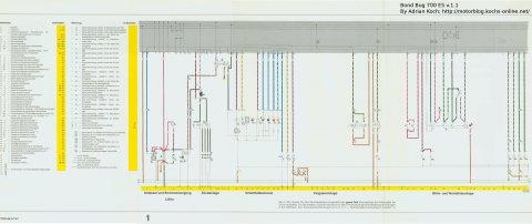 Stromlaufplan Bond Bug Neu Teil 1 v.1.1