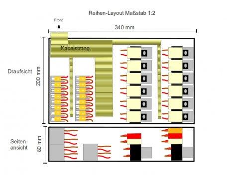 Zentralelektrik Layout Reihe