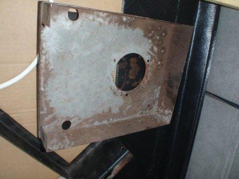 Heizungsbox sandgestrahlt