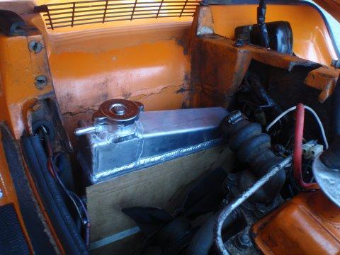Neuer Alu-Kühler eingebaut