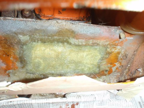 Loch hinter Mittelkonsole verschlossen