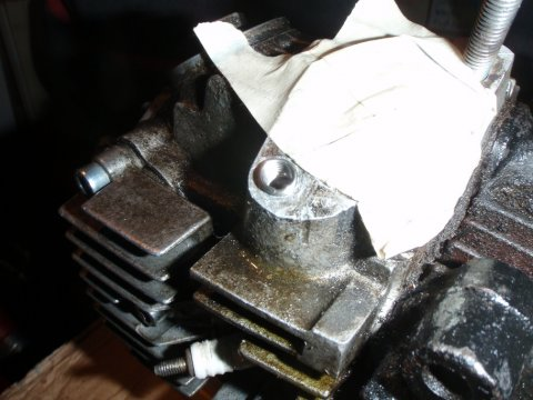 Reparaturgewinde eingesetzt
