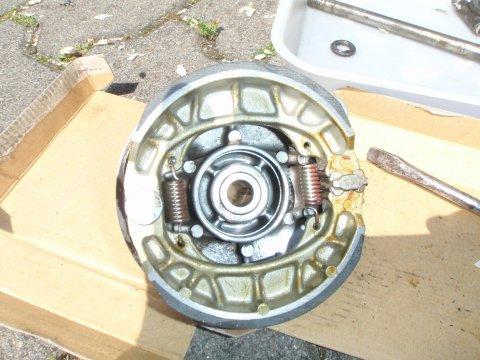Bremse zusammengebaut