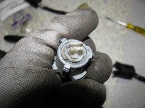 Schließzylinder Rückseite