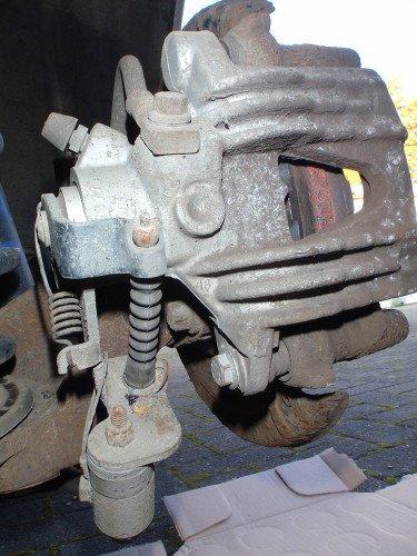Rückseite Bremssattel