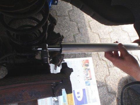Torx-SchrAube auf der Rückseite