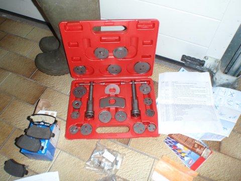Ro-Tools Bremskolbenrücksteller-Set
