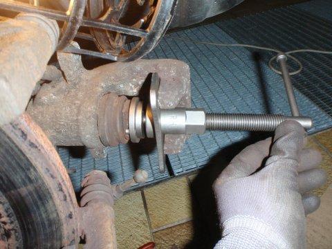 Ro-Tolls Bremskolbenrücksteller im Einsatz