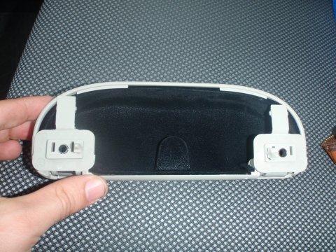 Brillenfach Rückseite
