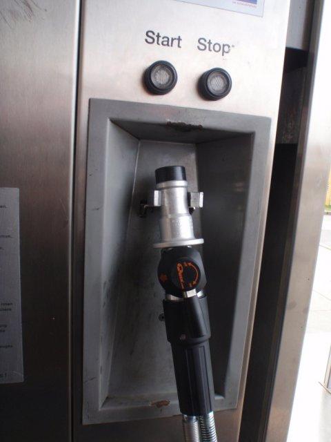 Erdgas-Zapfpistole