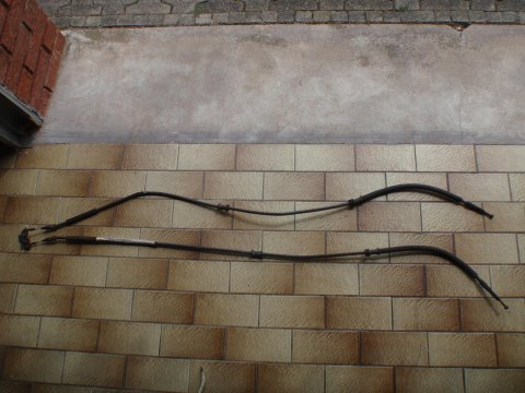 Bowdenzug ausgebaut
