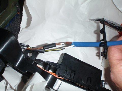 Kabel verlötet