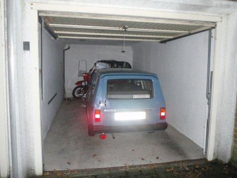 Rialto in Garage