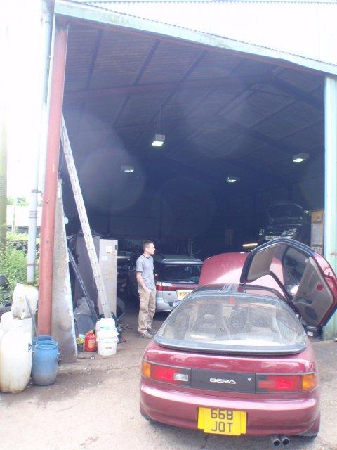 CR Gordon 4x4 Werkstatt