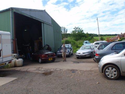 CR Gordon 4x4 Werkstatt 2