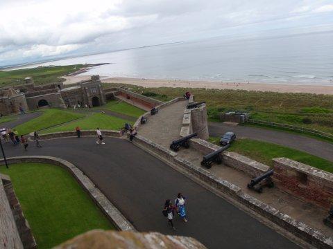 Ausblick von den Schlossmauern