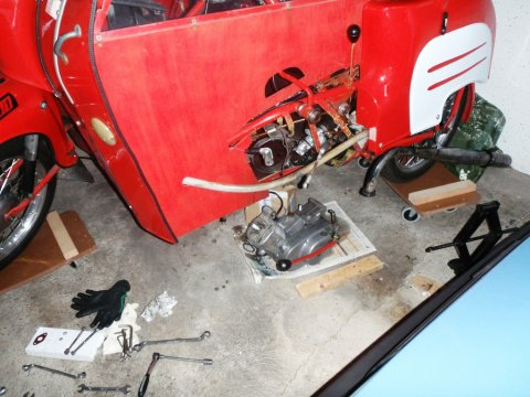 M53/11AR Motor ausbau