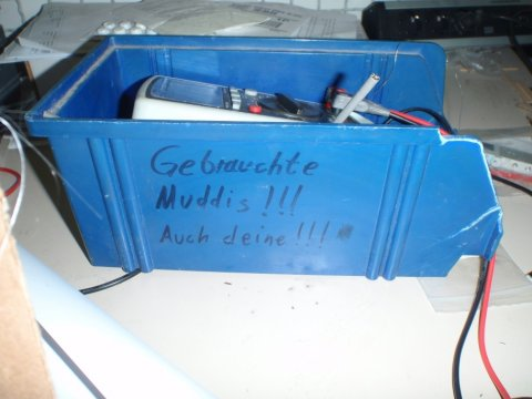 gebrauchte Muddis