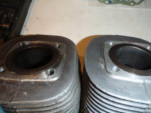 Zylinder im Vergleich