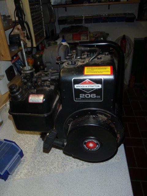 Briggs & Stratton 206cc 5 hp Motor