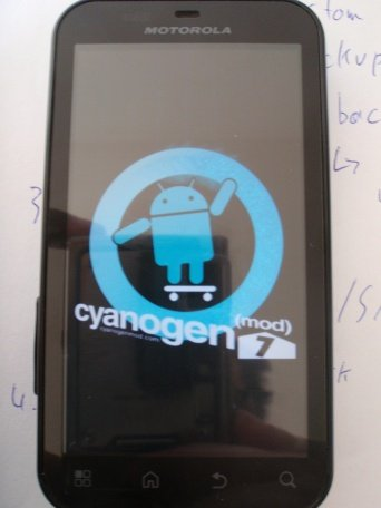CyanogenMod 7 Boot Animation