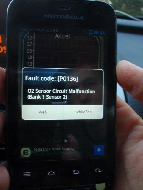 hinterlegter Fehlercode