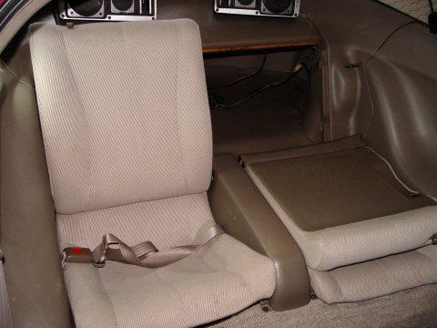 Toyota Sera Backseats