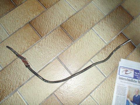Stahlleitung Rest