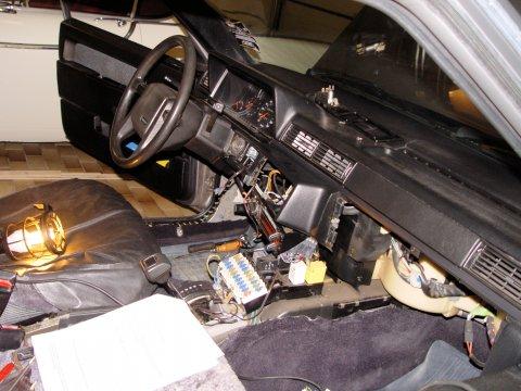 Volvo 745 Interior Taken Apart