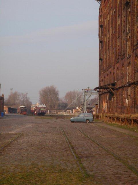 Am Wegesrand | Altautotreff | Februar 2015 | einsamer Rialto