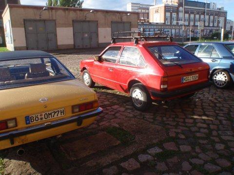 Opel Kadett D Seite