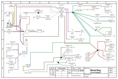 Bond Bug Circuit Diagram v.1.1