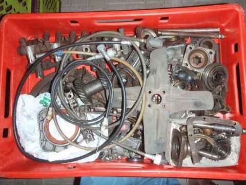 Motor- und Getriebeinnereien