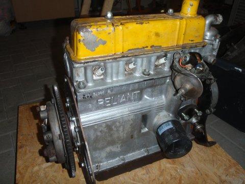 850 ccm Motor