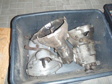 3 Reliant Getriebe